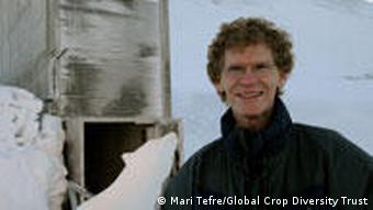 Cary Fowler outside the Svalbard Global Seed Vault