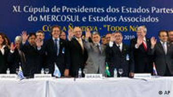 Mercosur ministers