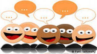 Chat Smiley Sprechblasen