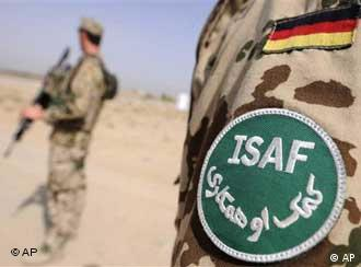 German ISAF soldiers in AFghanistan