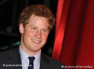 Britih Prince Harry