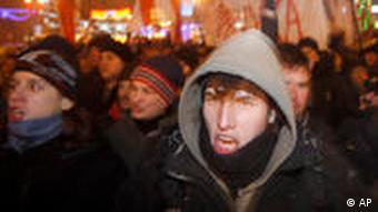 Belarusian protesters rally in Minsk
