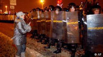Белорусский ОМОН 19 декабря 2010 года в Минске
