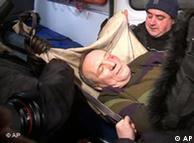 Кандидат в президенты Владимир Некляев, избитый людьми в черном