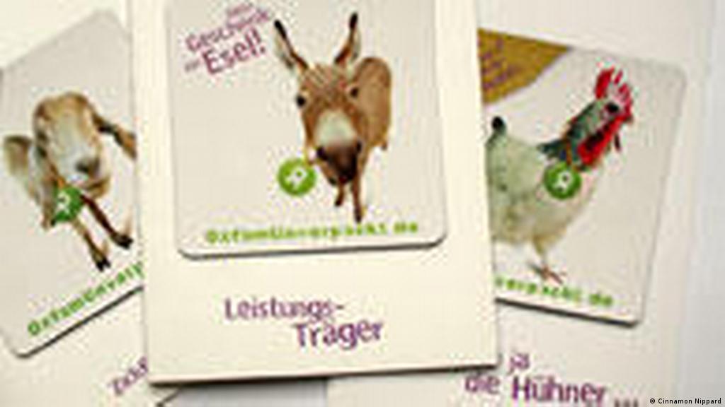 Donating animals to developing world