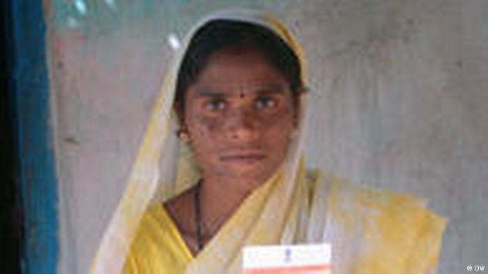 Dorf Tembhli Indien (DW)