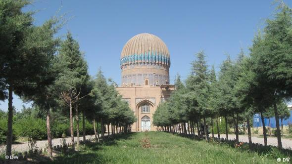 Historical Gohar shad building in Afghanistan
