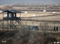 Patrulhamento de fronteiras entre as duas Coreias: tensão há décadas