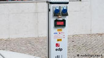 Portuguese electrical charging station