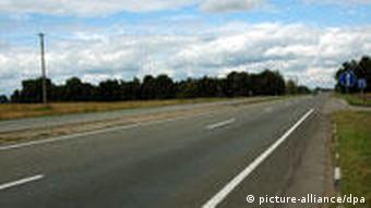 Autobahn Straße Ukraine