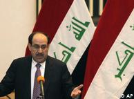 نوری مالکی، نخستوزیر دولت ائتلافی عراق