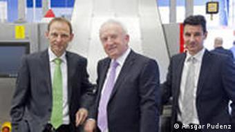 Entwickler Gunther Krieg, Dirk Fey, Jürgen Bohleber von der Firma Unisensor (Foto: Ansgar Pudenz) Wir haben die Rechte CMS Dez. 2010
