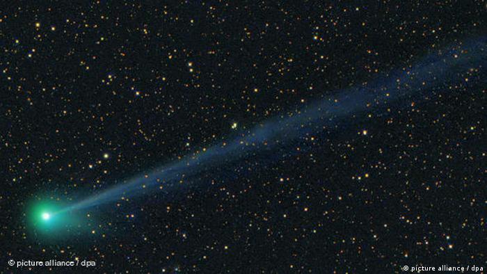 Flash-Galerie Ein neuer Komet schmückt den Nachthimmel