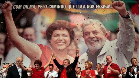 Flash-Galerie Brasilien Rousseff Lula Präsidentenwahl