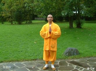 Shaolin monk Shi Yan Bao