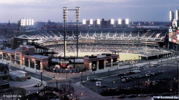 The Comerica Park in Detroit