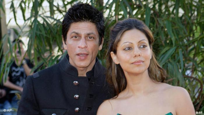 Flash-Galerie Shahrukh Khan und Gauri Khan (AP)