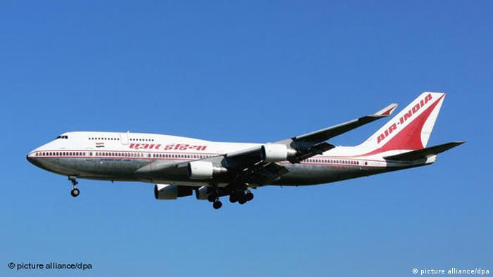 Air India Boeing 747-400 Flash-Galerie (picture alliance/dpa)