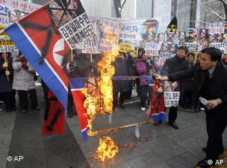 A recent demonstration against North Korea in Seoul