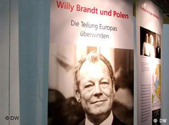 Plakat wystawy Willy Brandt i Polska