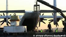 Schwertransport per Flugzeug