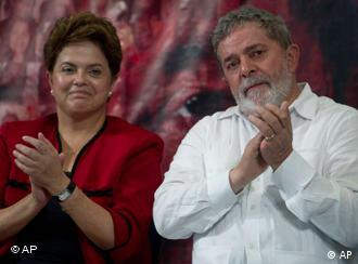 Rousseff and Lula
