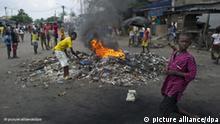 Elfenbeinküste Wahl und Unruhen Flash-Galerie
