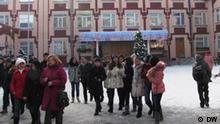 Schule in Bischkek (Kirgistan)