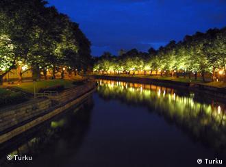 Râul Aurajoki, Turku