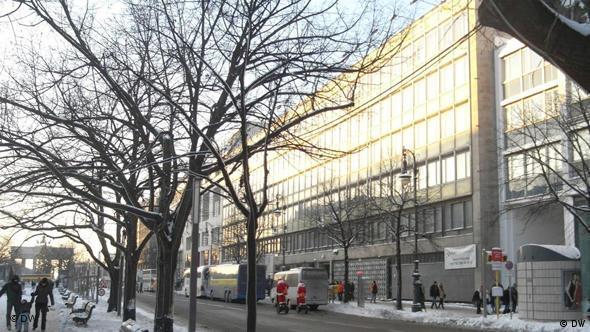 Ehemalige Polnische Botschaft Unter den Linden: leer stehende Gebäude der polnischen Botschaft, Berlin, Unter den Linden 72-74, 4.12.2010; Copyright: DW/Elzbieta Stasik