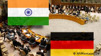 Germany and India want to be permanent members of the UN Security Council