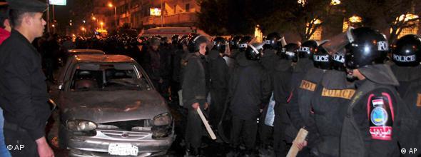 NO FLASH Ägypten Bombenanschlag auf koptische Christen