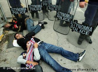 Από πρόσφατη διαμαρτυρία προσφύγων στην Αθήνα (20.12.2010)