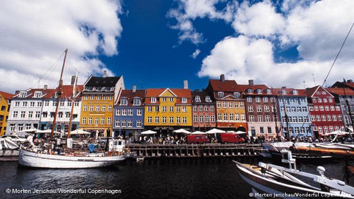 The Nyhavn district as seen from Copenhagen's harbour (Morten Jerichau/Wonderful Copenhagen)
