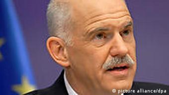 Porträt Papandreou (Foto: dpa)