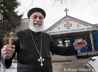 Father Pigol Bassili in Frankfurt