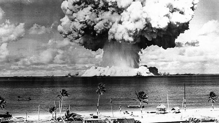 Flash-Galerie Atomkraft Atombombentest Bikini Inseln