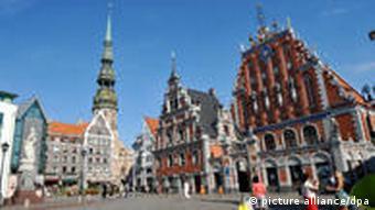 Riga street scene
