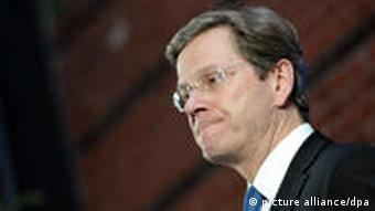 Foreign Minister Guido Westerwelle