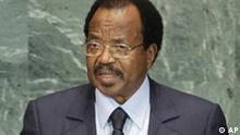Paul Biya Präsident Kamerun