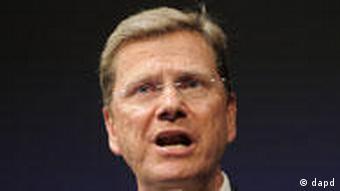 Bundesaußenminister und FDP-Bundesvorsitzender Guido Westerwelle (Foto: dapd)