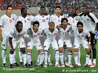 Qatar's national soccer team played Uzbekistan on the opening night