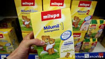 Milupa Anfangsmilch Milch Baby