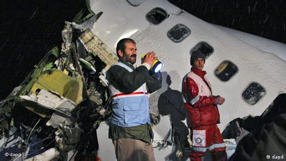 یک بوئینگ ۷۲۷ ایران که در ژانویه ۲۰۱۱ در نزدیکی ارومیه سقوط کرد