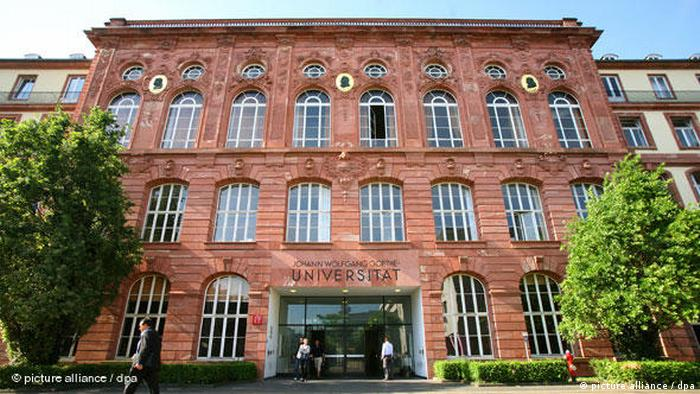 Johann Wolfgang Goethe-Universität Frankfurt am Main Flash-Galerie (picture alliance / dpa)