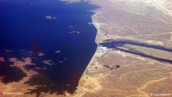 Luftaufnahme Merowe-Staudamm (Foto: Lubumbashi)