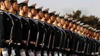 Members of the Chinese Navy