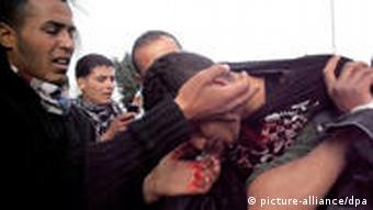 Tunesien Gewalt Proteste Januar 2010