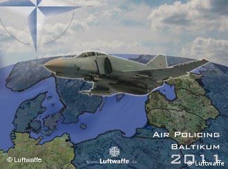Richthofen-Jagdgeschwader sichert baltischen Luftraum (Grafik: Luftwaffe)