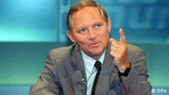 Kompetenzteam: Wolfgang Schäuble, Porträt